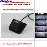 Liislee High Quality Intelligentized Car Rear Reverse Camera For Toyota Prius 2012 2013 2014 / NTSC PAL RCA CCD 580 TV Lines