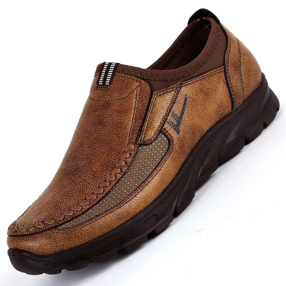Kiểu dáng thời trang Nam Chạy Bộ Ngoài Trời Giày Nhẹ Thoáng Khí Thoải Mái Nam Handmade Giày Thể Thao Huấn Luyện Size 38-48