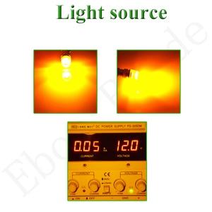 Image 5 - 2 x BA9S T4W BAX9S H6W BAY9S H21W Car LED Indicator Lamp Interior Dome Map Light Side Wedge Marker Bulb Amber Yellow 6V 12V 24V