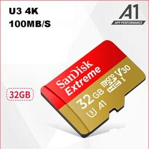 Image 4 - New Arrival 2017 SanDisk Micro SD karty pamięci o pojemności 32 gb Microsdhc U3 A1 Class10 100 mb/s Trans Flash Cartao de pamięci wyboru z karty SD 32 gb