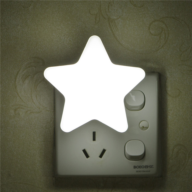 Light Sensor Control Mini Star LED Night Light for Dark 3