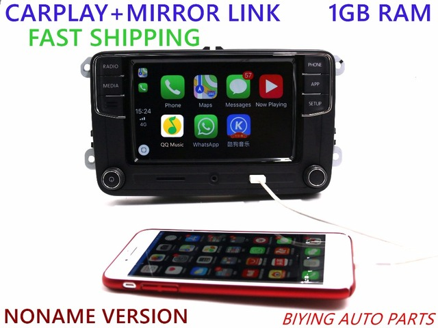 "Noname Tianbao Carplay APP RCD330 330G Plus 6.5"" MIB Radio For VW Golf 5 6 Jetta CC Tiguan Passat Polo 6RD 035 187 B 6RD035187B"