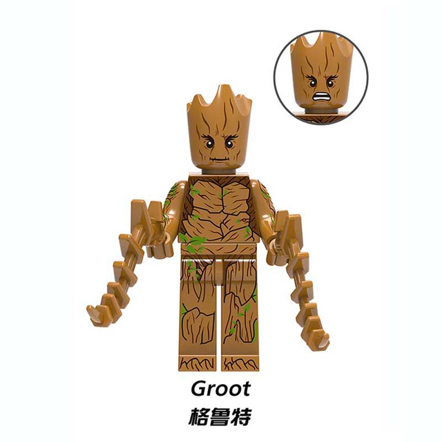 HOT Avengers 3 Infinity War Building Blocks Toys Figures Legoing Marvel Thanos Iron Man Corvus Glaive Capation America Groot  3