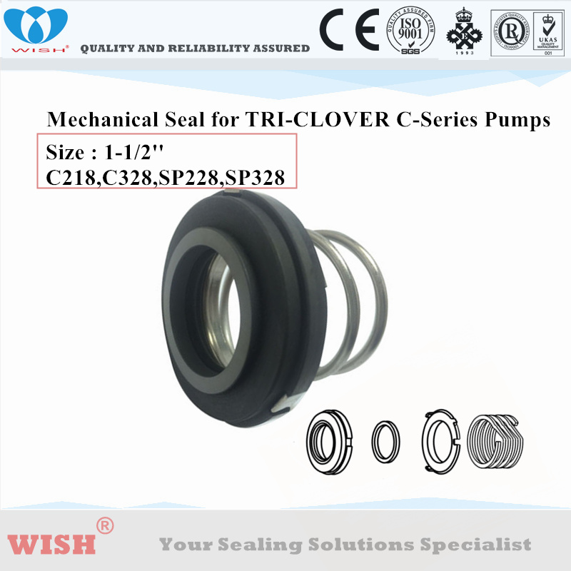 US $90 0 |Tri clover pump C218,C328,SP218,SP328 mechanical seal SHAFT 1 50  INCH carbon/viton/ss304-in Seals from Automobiles & Motorcycles on