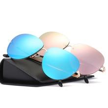 OOBON 2017 Teardrop Driving New sunglasses Men Sunglasses Classic Aviators Glasses Male Top Eyewear UV400 Gafas