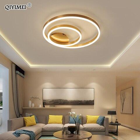 ouro redondo ferro led luzes de teto