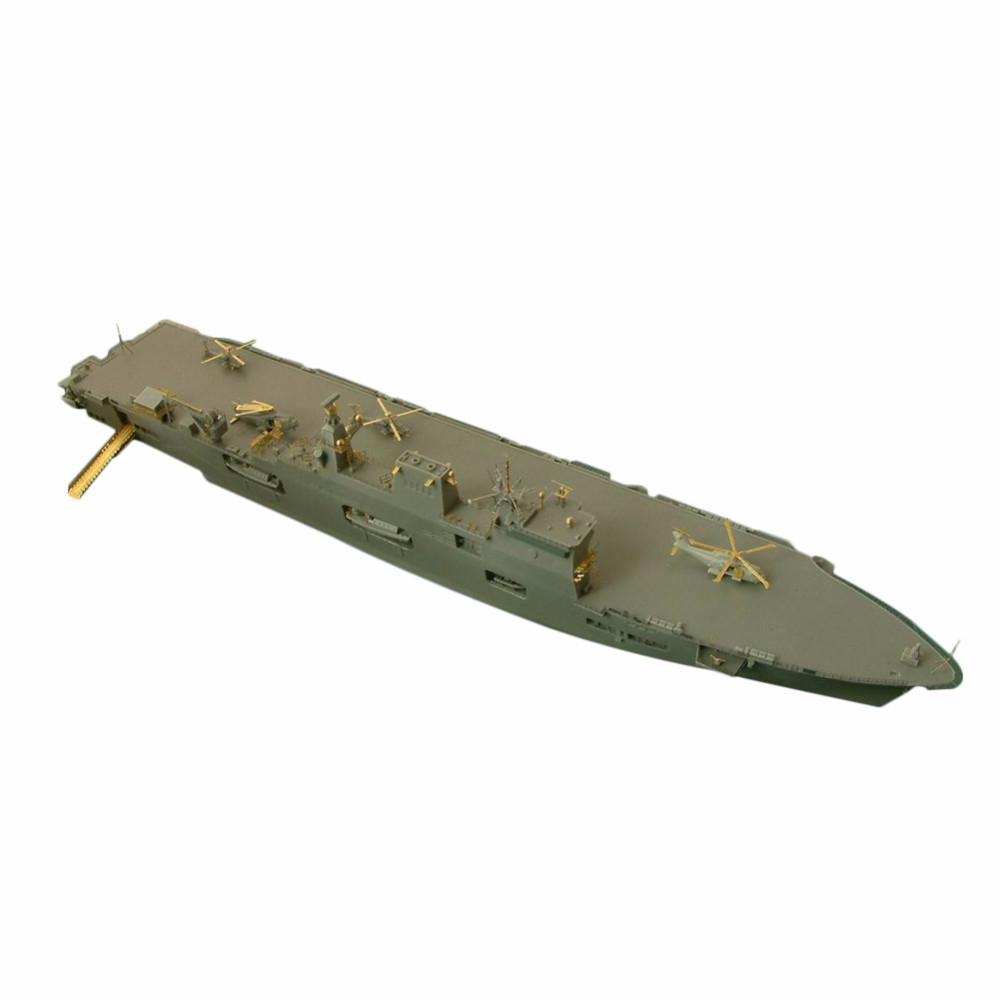 OHS Orange Hobby N07030268 1/700 HMS Ocean Military Navy Assembly Scale Military Ship Model Building Kits ohs tamiya 60102 1 35 tyrannosaurus diorama set assembly scale dinosaur model building kits