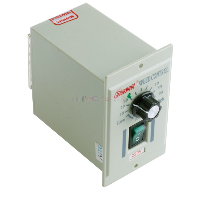 400W US AC 110V-220V 1/3phase Motor Speed Control Controller For DC 0-90V New