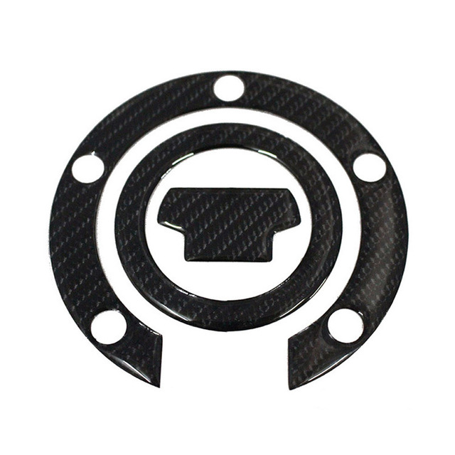 $ 14.44 New 3D Carbon Fiber Gas Cap Tank Cover Pad Sticker For YAMAHA ALL