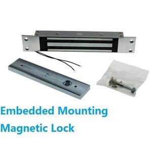 Image 3 - 180 kg 350Lbs 315 mhz Draadloze Afstandsbediening Magnetische Slot met 2 Remote Handvat Draadloze Exit 3 m Kabel