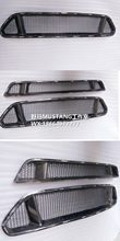 Front Car Grill Car grille for FORD Mustang 2015-2017 5.0 GT carbon fiber(China)
