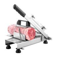 304 paslanmaz çelik dondurulmuş et dilimleyicisi  ev manuel kuzu  sığır eti dilim metal kesme makinesi|Mutfak Robotları|   -