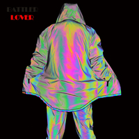 Men's 3M Reflective Jackets Colorful Long Reflective Jackets Casual Windbreaker Men Waterproof Jacket Coat for Male Punk Hip Hop