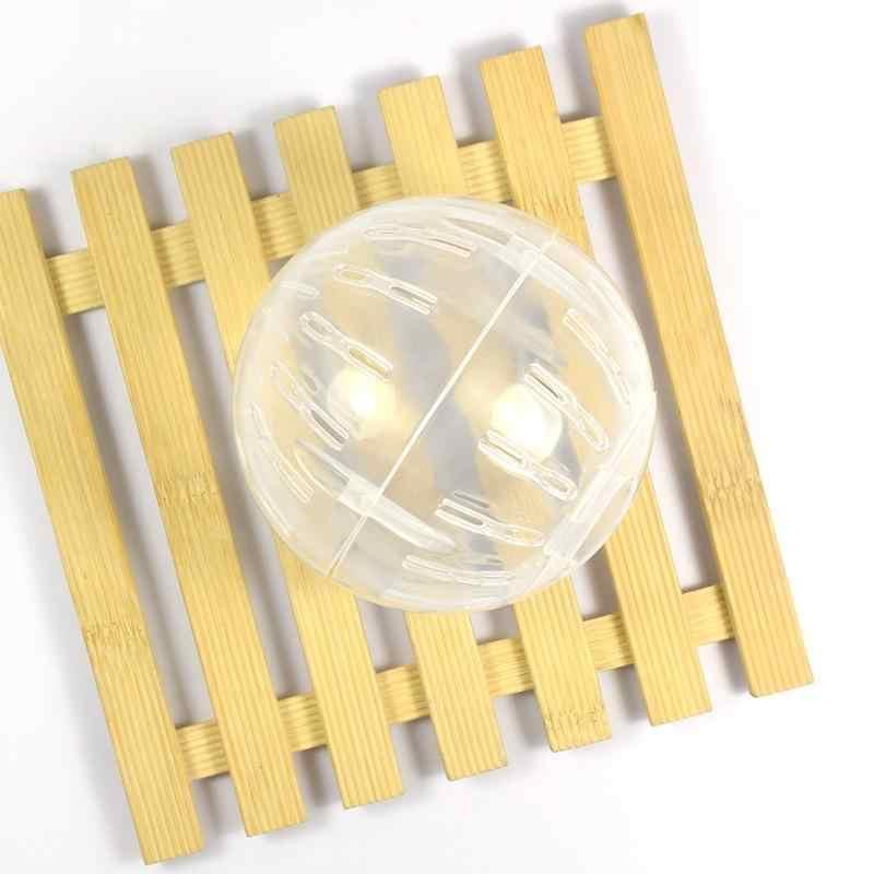 Пластиковые животные грызунов Мыши мяч для прогулок игрушка для хомяка крыса упражнения шары игры игрушки