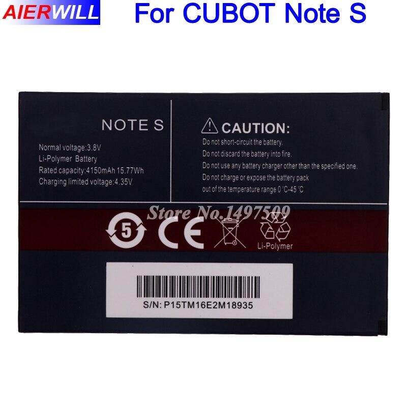 Per CUBOT NOTE S Batteria 4150 mAh di Alta Qualità