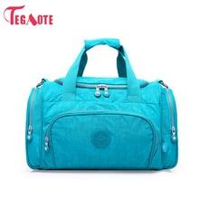 TEGAOTE Men Travel Bag Zipper Luggage Travel