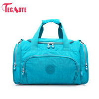 TEGAOTE Men Travel Bag Zipper Luggage Travel Duffle Bag Latest Style Large Capacity Male Female Portable Waterproof Travel Tote