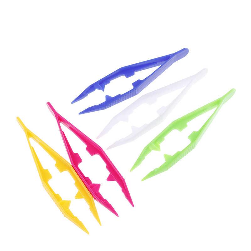 New Funny Durable Children Kids Tools Tweezers Kids' Craft for Perler Bead New Design Random Color 1/5pcs