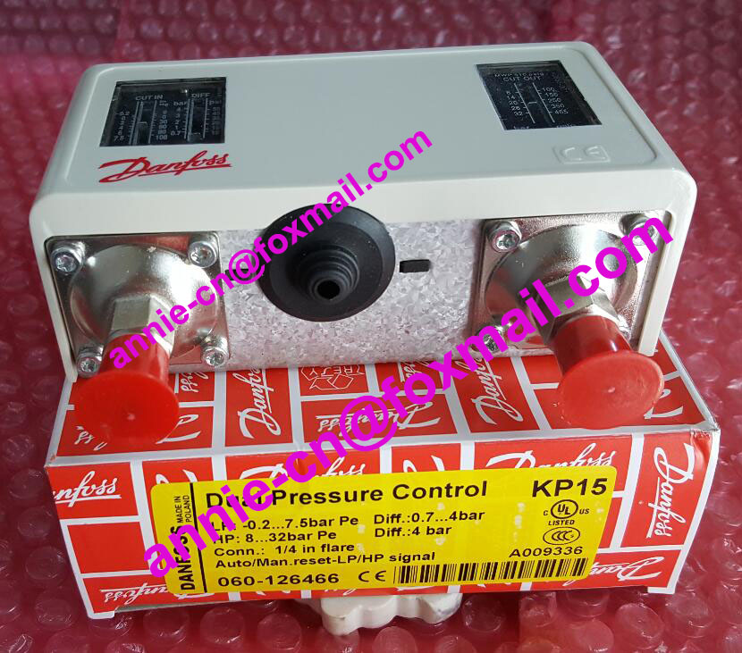 ФОТО New and original KP15 060-1264, KP15 060-1265   Double pressure switch  High and low voltage pressure controller
