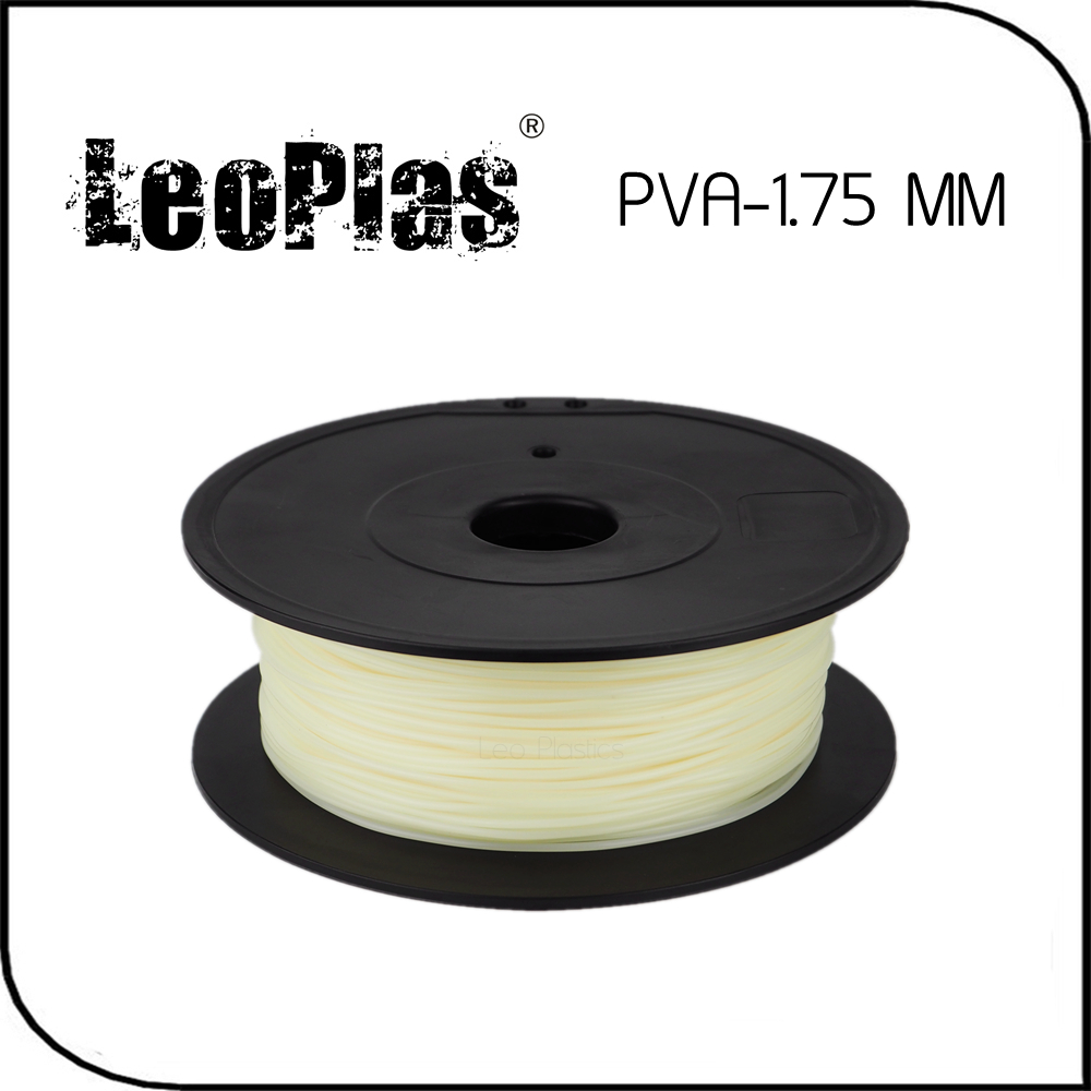 Prix pour Dans le monde entier Rapide Livraison Directe Fabricant 3D Imprimante Matériel 500g 1.1lb Naturel Couleur 1.75mm PVA Filament
