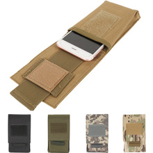 CQC 5,5 дюймов Открытый военный тактический Чехол для мобильного телефона Molle поясная кобура охотничий держатель для мобильного телефона чехол поясная сумка