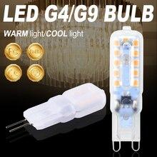 Mini G9 Led Lamp Dimming AC 220V 3W 5W Led G4 Corn Bulb 230V Spotlight Bulb LED g9 Light Replace Halogen Spotlight Chandelier