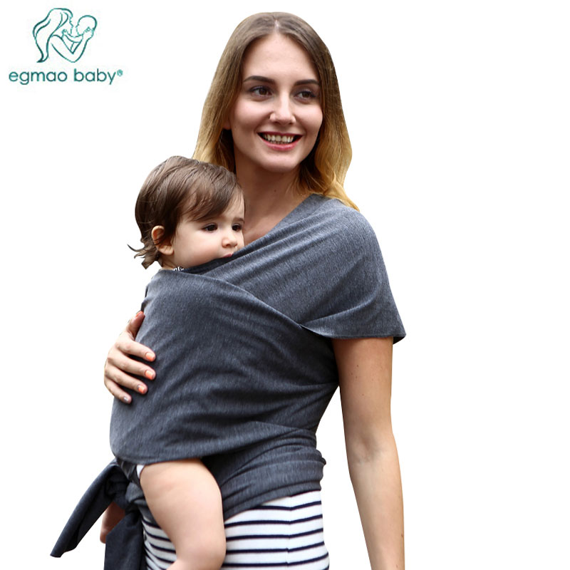 2017 Hot Selling Baby Slings Carriers Natural Cotton Sling Infant Wrap Backpack Shower Nursing Cover for Newborn Kids Hipseat(China (Mainland))