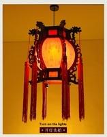 Ancient Chinese wooden lanterns retro living rooms restaurants garden studies home chandeliers m