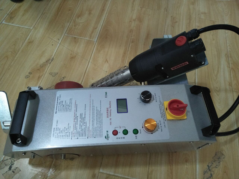 Multi Purpose Banner Welding Machine Adjustable Working Temperature in Plastic Welders from Tools