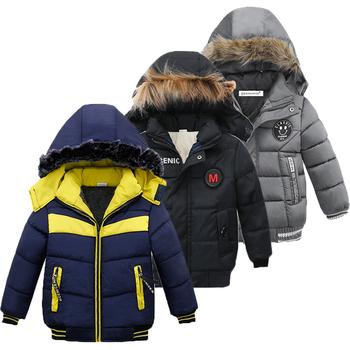 Kurtka dla dzieci dla chłopców płaszcz 2020 jesień kurtki zimowe dla kurtka dla dzieci dziecko ciepłe z kapturem na suwak odzież wierzchnia płaszcz dla chłopców ubrania tanie i dobre opinie Moda Poliester COTTON List REGULAR Kurtki płaszcze Pełna Pasuje prawda na wymiar weź swój normalny rozmiar Heavyweight