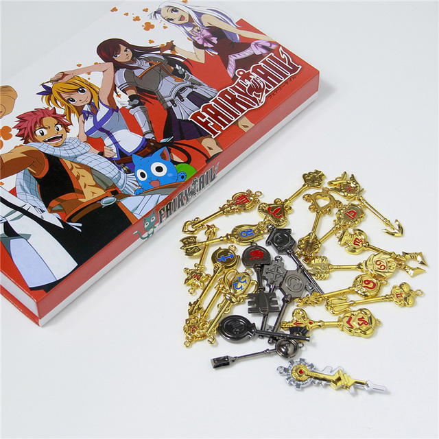 Fairy Tail Lucy Key Key chain