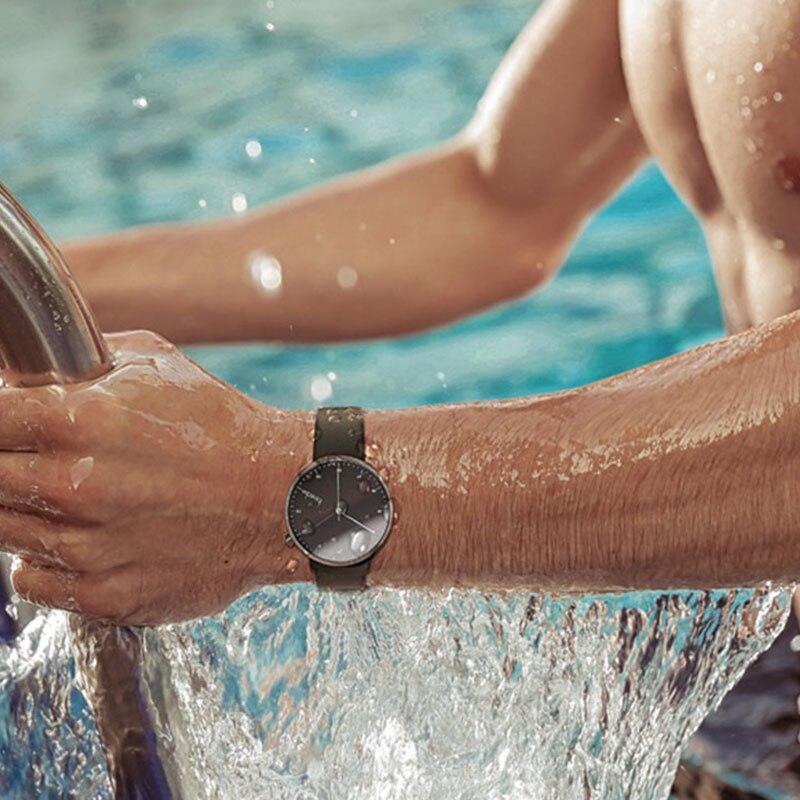 Bestdon Mode Lederen Horloge Voor Mannen Luxe Casual Horloge Zwitserland Top Merk Quartz Horloge Dropshipping 2019-in Quartz Horloges van Horloges op  Groep 3