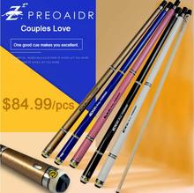 PREOAIDR  3142 Brand EX Billiard Pool Cue Stick Tip 10mm 11.5mm 13mm 5 Colors Kit Durable Professional 2019