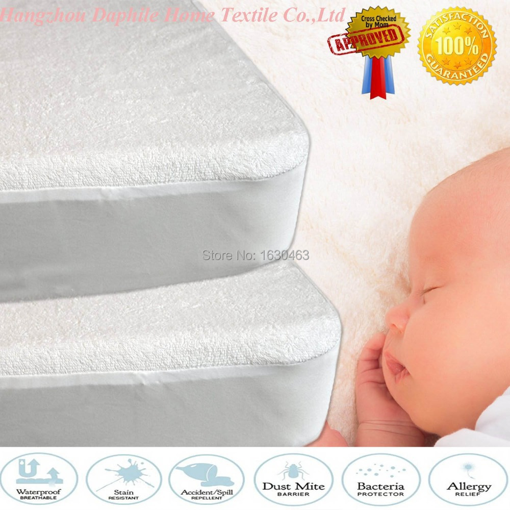 Baby bed bugs - 80x188cm Terry Baby Waterproof Mattress Protector Cover For Bed Bug Suit For Brazil Mattress Size