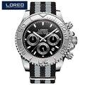 Классические мужские часы LOREO  автоматические водонепроницаемые механические часы серии Diver 200 м  2018