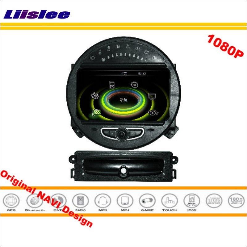 Liislee для BMW MINI 2006 ~ 2013 стерео Радио CD dvd-плеер GPS nav навигации 1080 P HD Экран системы (оригинальный Navi Дизайн)