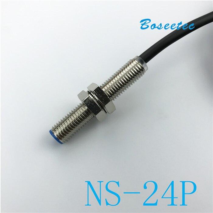 Polo magnetico Sensore di Rilevamento e Il Riconoscimento NS-24P Serie PNP Motore Corno Magneto-di Collegamento PLCPolo magnetico Sensore di Rilevamento e Il Riconoscimento NS-24P Serie PNP Motore Corno Magneto-di Collegamento PLC