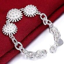 DOTEFFIL 925 ayar gümüş havai fişek mercan kolye bilezik kadın Charm düğün nişan moda parti takı