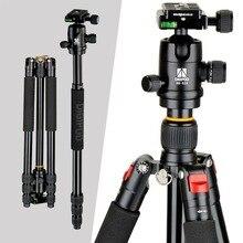 DIGIPOD Professional Portable Camera Aluminum Tripod Monopod with Ball Head for DSLR Cameras  A254FM0 + BH-52A