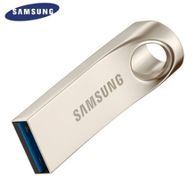 SAMSUNG USB Flash Drive Disk 16G 32G 64G 128G USB 3.0 Metal Mini Pen Drive Pendrive Memory Stick Storage Device U Disk(China)