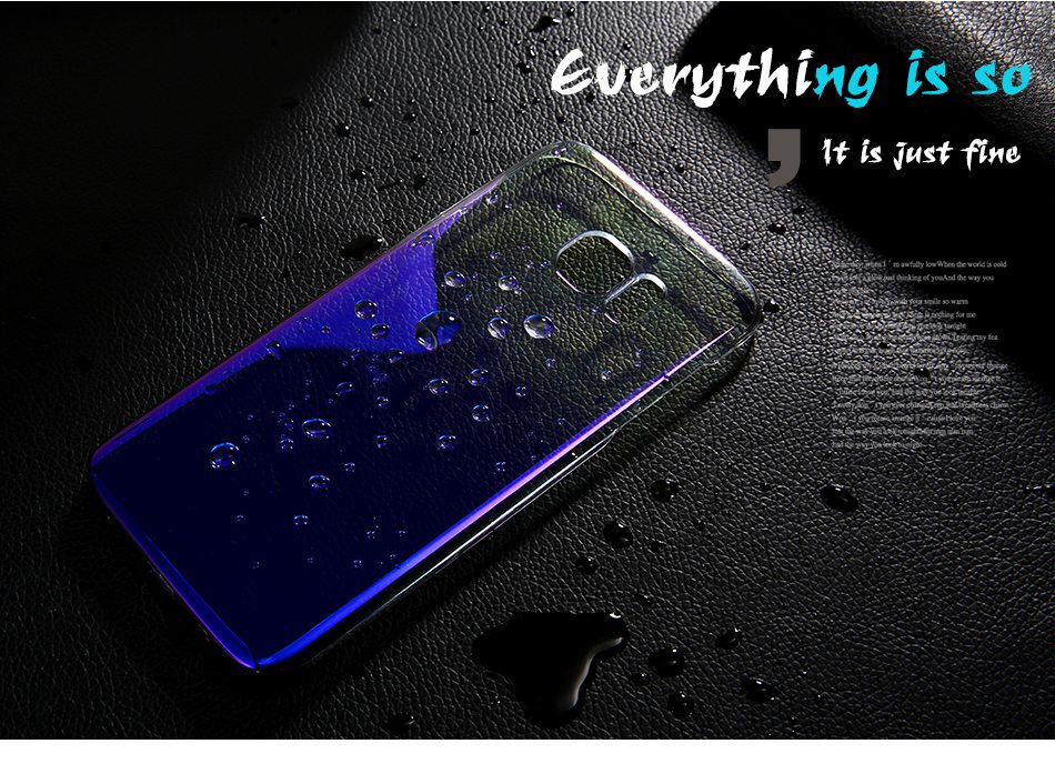 For Samsung S8 Plus Case Blue Ray Gradient Light Phone Cases For Samsung Galaxy S8 Plus Galaxy S6 S7 Edge (1)