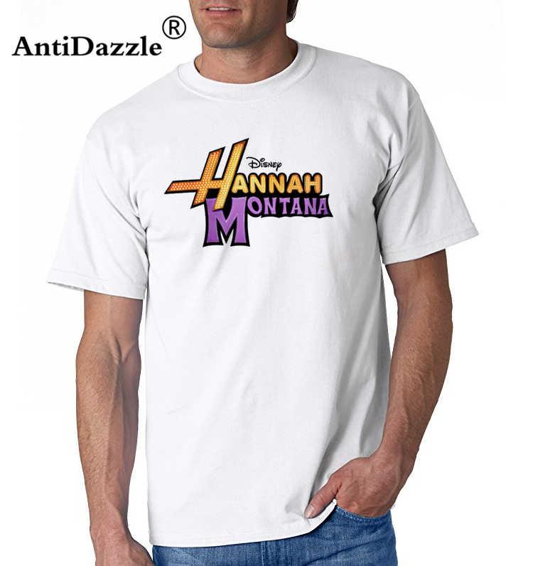 Zomer 2017 Beroemde Merk Hannah Montana Kids Muziek T-shirt Hiphop Tops Tees 100% Katoen Shirts