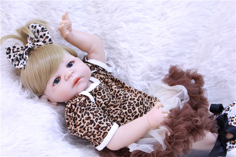 DollMai new 23 bebe doll blond hair girl doll whole silicone reborn baby dolls toys for children gift can enter water bonecasDollMai new 23 bebe doll blond hair girl doll whole silicone reborn baby dolls toys for children gift can enter water bonecas