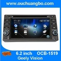 Ouchuangbo 6.2 inch cheaper car gps navigation dvd automotivo for Geely Vision support USB SD Arabic OCB-1519