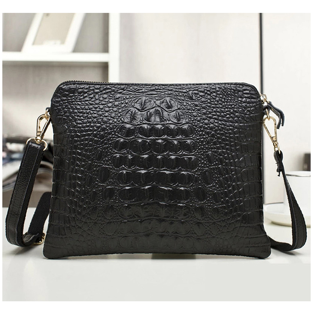 Designer Famous Brand Women Messenger PU + Genuine Leather Evening Clutch Bags Handbags Bolsos Bolsas Sac A Main Femme De Marque brand luxury women leather handbags women s trunk bolsos messenger bags shoulder bag sac a main femme de marque