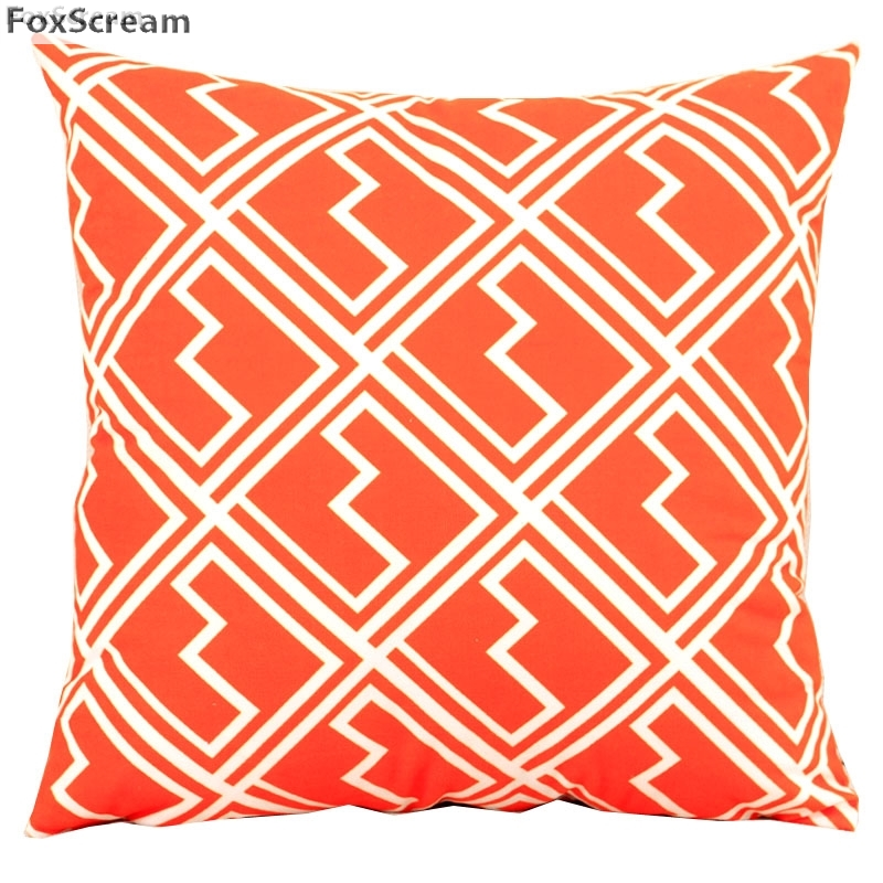 US $4.04 19% OFF|Nordic Style pillow cover Geometric Cushions Covers Home  Decor Green Throw Pillows Red Decorative Pillows Case For Sofa 45x45cm-in  ...