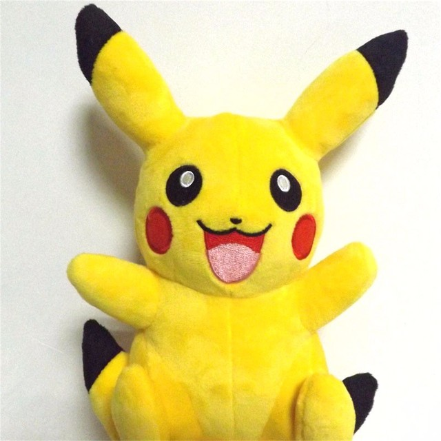 Pikachu Plush Toys Cute Soft Dolls & Stuffed Toys for Children Gift Hot Anime Pikachu Stuffed Plush Dolls Kawaii Baby Kids Toy
