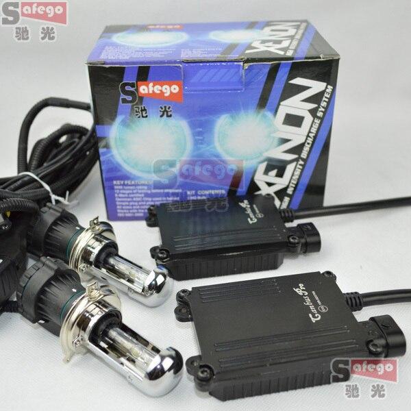 1 set AC 12V 35W bixenon kit pro canbus bixenon h4 bixenon kit h13 9004 9007 35W hid xenon kit canbus h4 6000k