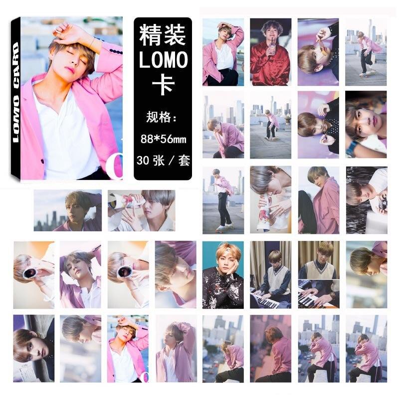 [MYKPOP]BTS DICON #7 V Photo Album LOMO Cards Paper Photo Card HD Photocard SA180051001