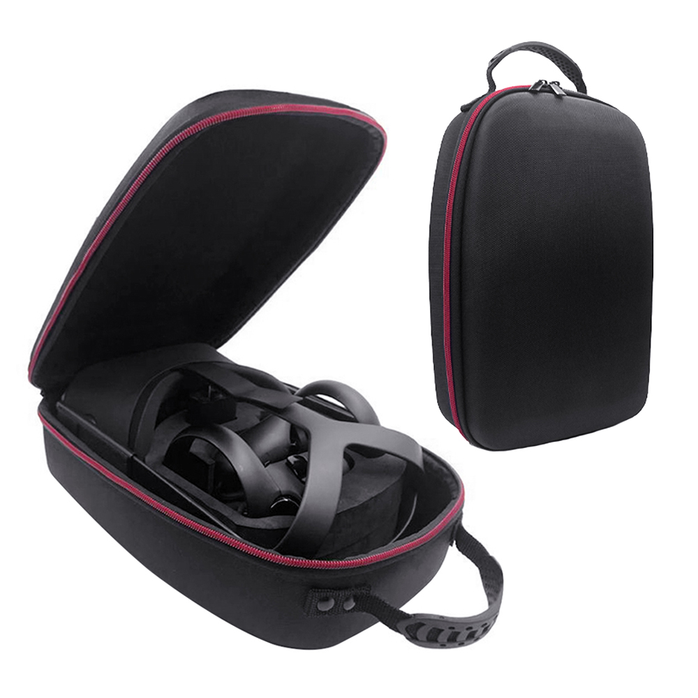 2019 New Hot EVA Hard Travel Protect Bag Storage Box Carrying Cover Case for Oculus Quest Virtual Reality System and Accessories|VR/AR Glasses Accessories| |  - title=